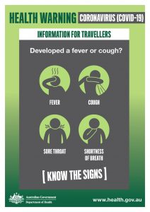 Know the signs of COVID-19 fever, cough, sore throat, shortness of breath